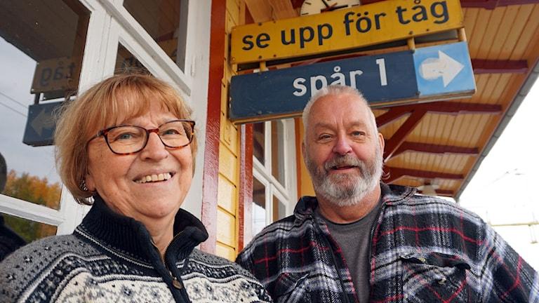 Eva Rhodin och Håkan Johansson
