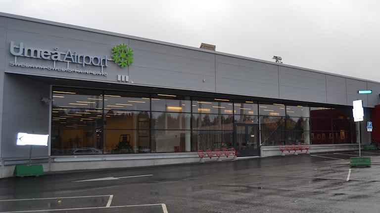 Umeå Airport. Foto: Marilèn Karlsson/Sveriges Radio