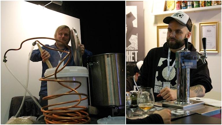 ANdreas Häggström och Patrik Hellström