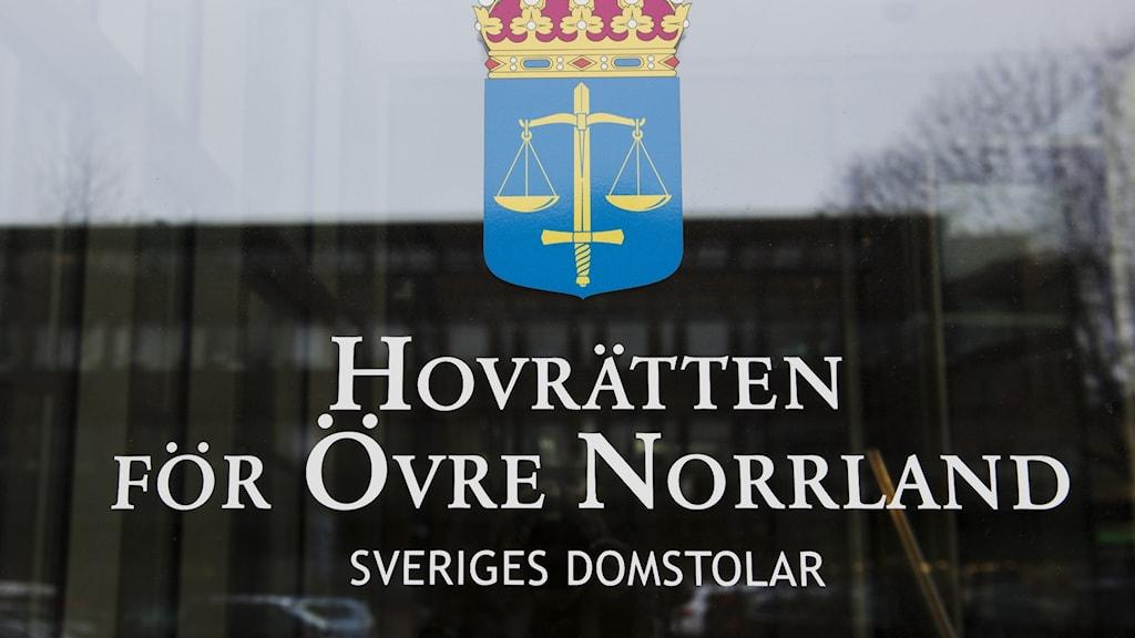 Hovrätten för övre norrland foto TT