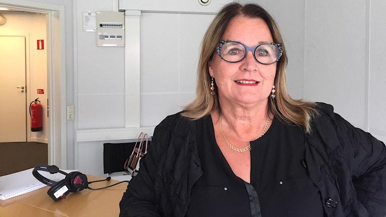 Lilly Bäcklund (S) oppositionsråd Lycksele kommun.