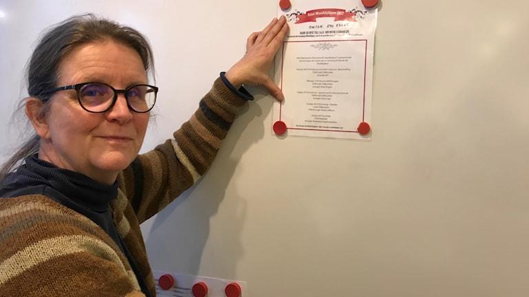 Ingrid Hanke är engagerad i muSIKEÅhjälpen