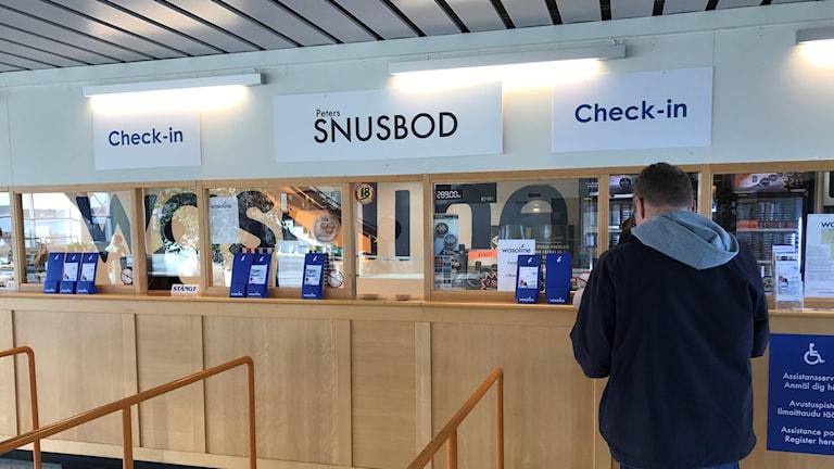Snusboden i Umeå hamn