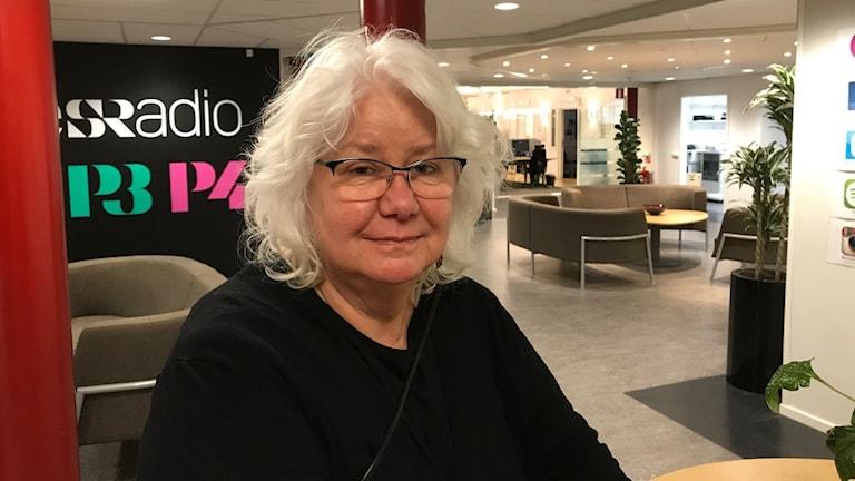 Ann Dolling, forskare på SLU i Umeå. Foto Jan Jacobson Sveriges Radio