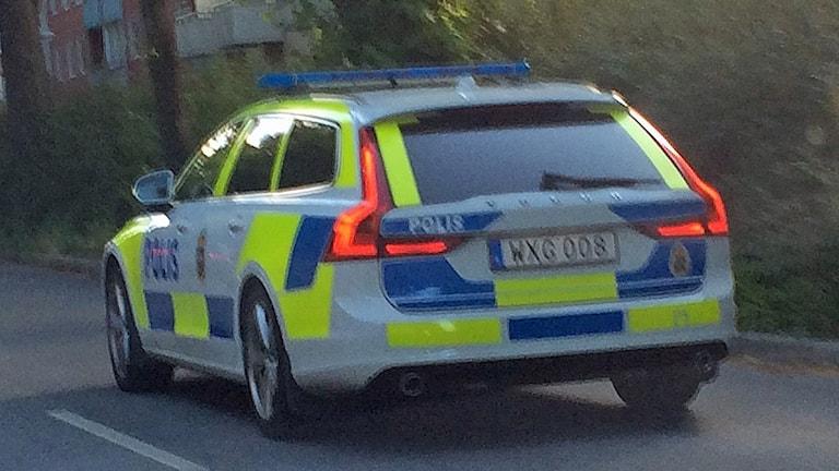 EGEN Polisbil på uppdrag polis
