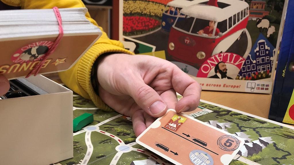Familjespelet The Great Tour European Cities är ett av fem nya spel som spelexpert Jonas Rosenqvist pratar om denna fredag.