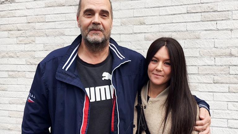 Per Erik Söderström och Gabriella Alfengård