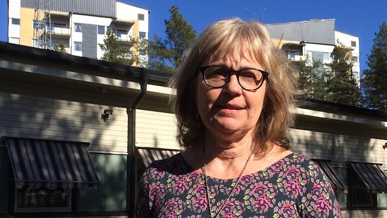 LiseLotte Olsson, Vänsterpartiet. Foto: Peter Öberg, Sveriges Radio.