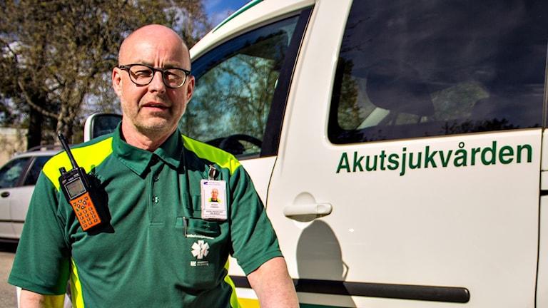 Ronny Friberg, ambulanschef i Umeå.