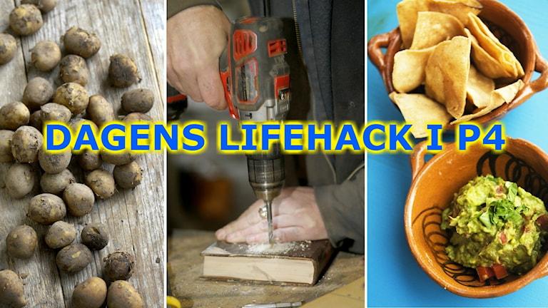 Potatis och nachos i dagens lifehack i P4.