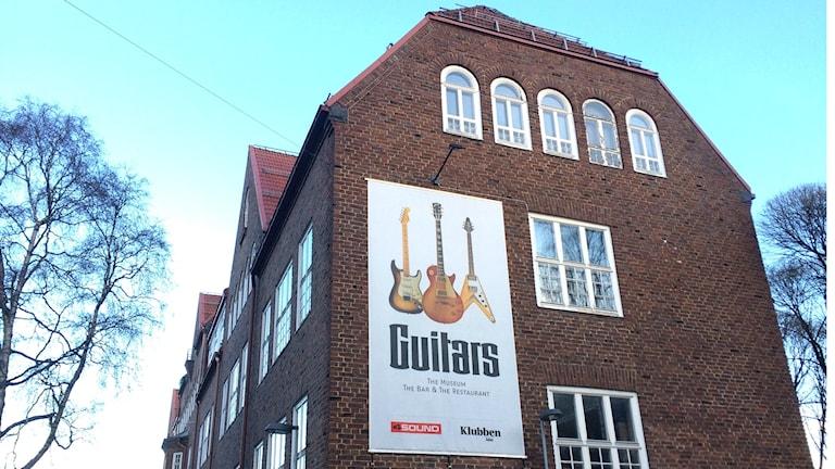 Guitars, Umeå. Foto: Peter Öberg, Sveriges Radio.