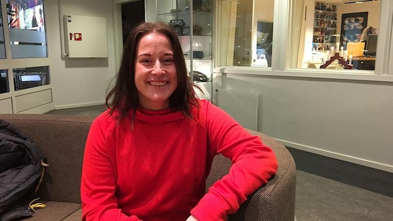 Petra Malm elitsoldat och elittränare Foto: Madeleine Harrati/SR Västerbotten