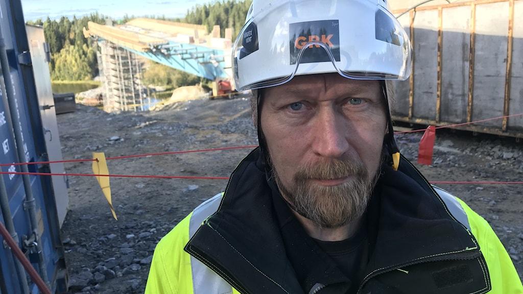 Magnus Ahlskog, projektledare GRK Infra AB.