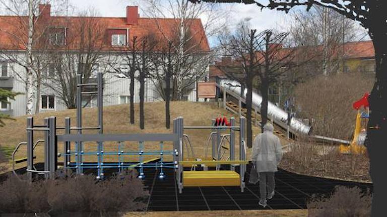 Utegym och lekpark för vuxna i Hagaparken Umeå Illustration via Umeå kommun.jpg