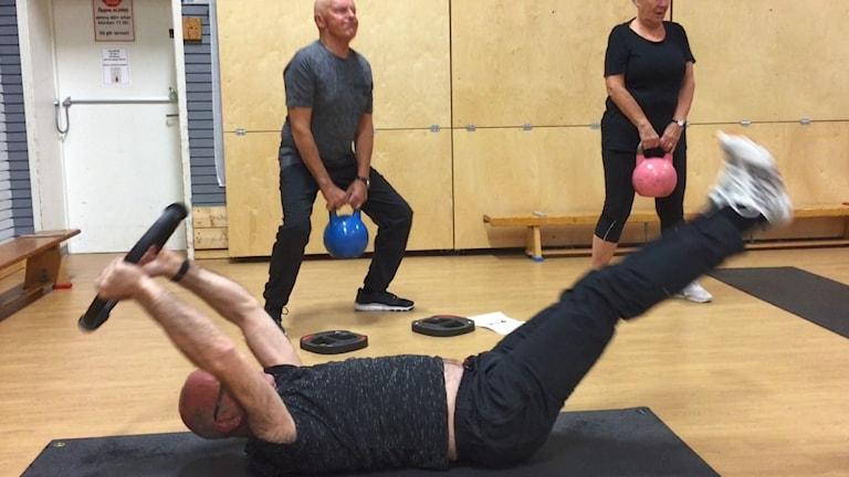 Gratis träning för 75-åringar blev succé