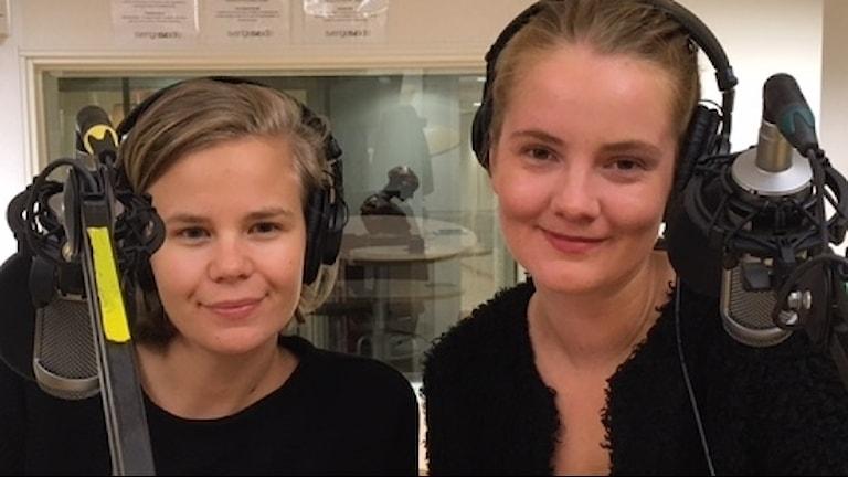 Filmtipsarna Anna Brodin och Miranda Larsson Foto Pia Diaz Bergner Sveriges Radio