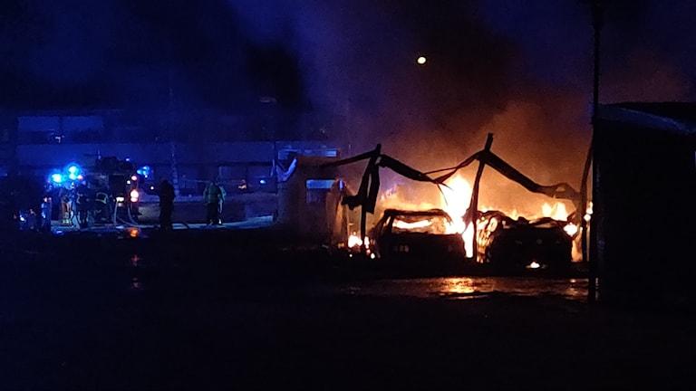 Brand på Mariehem