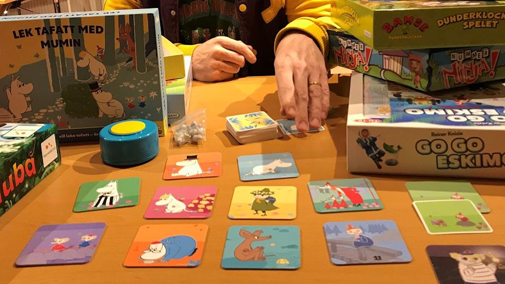 """""""Lek tafatt med Mumin"""" är ett av de tio spel för barn som spelexpert Jonas Rosenqvist tipsar om."""