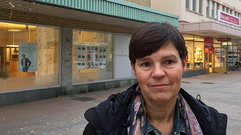 Åsa Bergvall, lärare i svenska som andra språk på Tannbergsskolan i Lycksele.