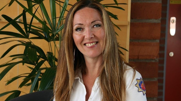 Pernila Alsterlind på räddningstjänsten i Stor-Göteborg och expert på skolbränder.