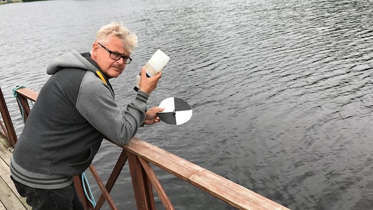 Inge Lindström som bor i Överklinten är engagerad i projektet