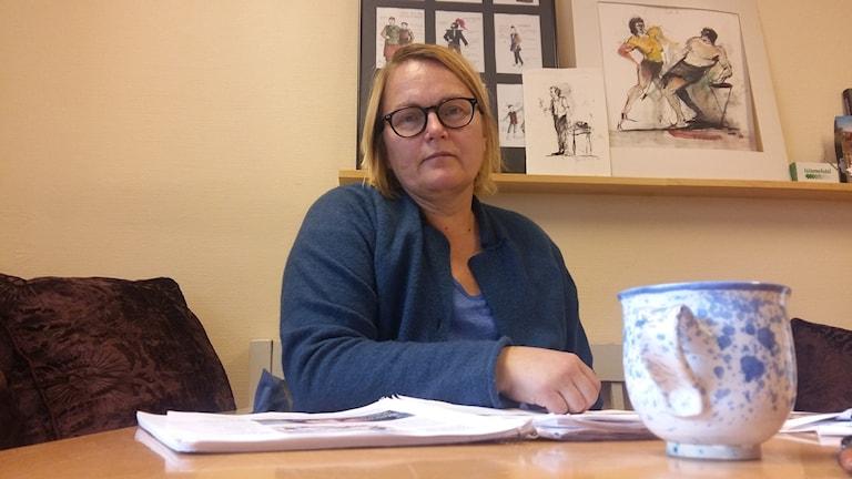 Anna Cedergren, Umeå teaterförening. Foto: Linnea Hedelilja
