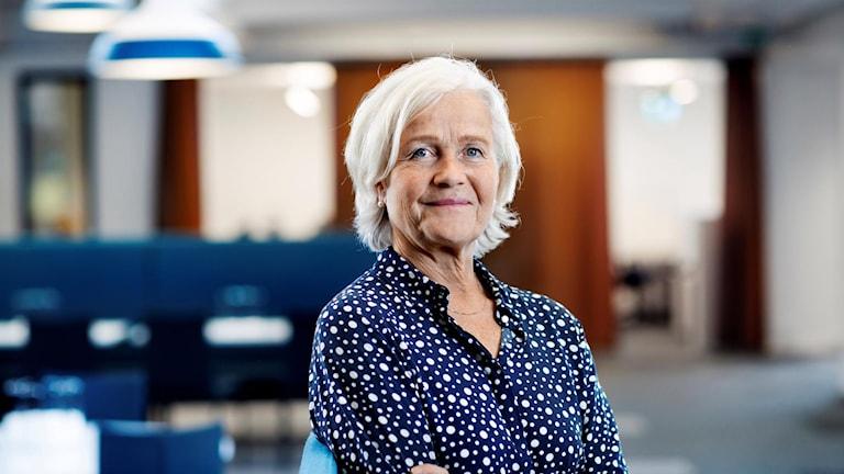 Brita Winsa, hälso- och sjukvårdsdirektör i Region Västerbotten.