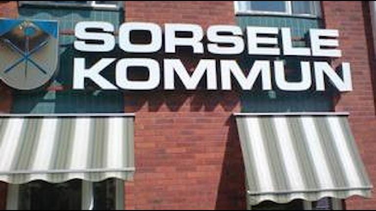 Sorsele Kommunhus, Foto: Tommy Karlsson-Ravström, SR