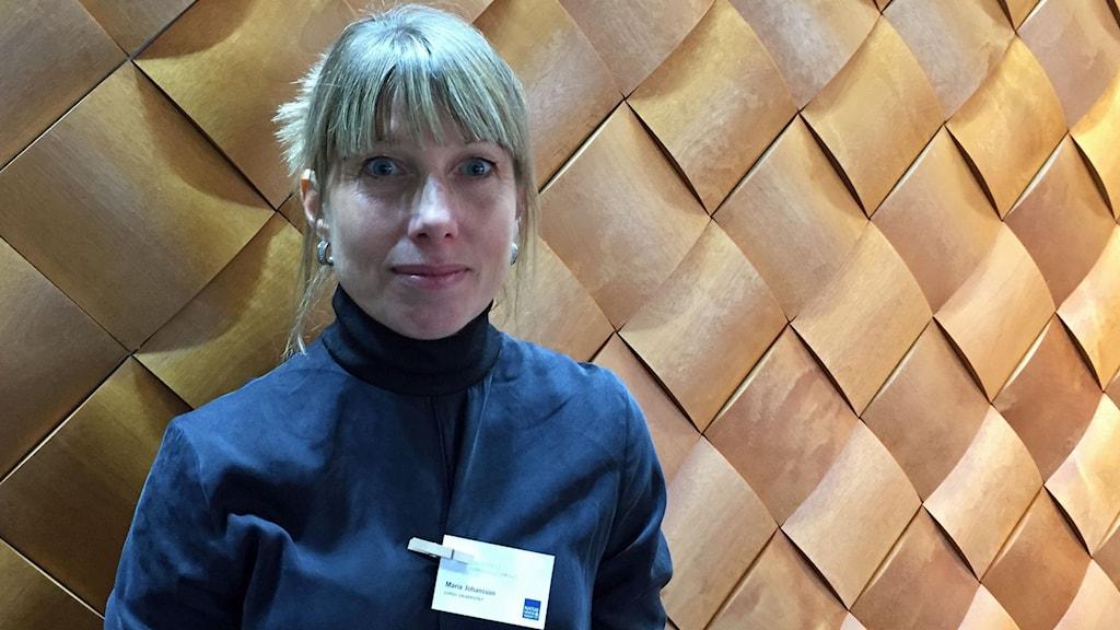 Maria Johansson forskar om björnrädsla