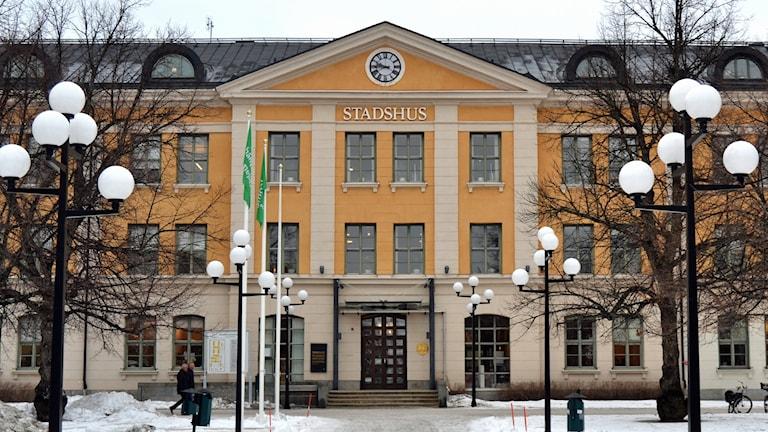Stadshuset, Umeå. Foto: Peter Öberg, Sveriges Radio.