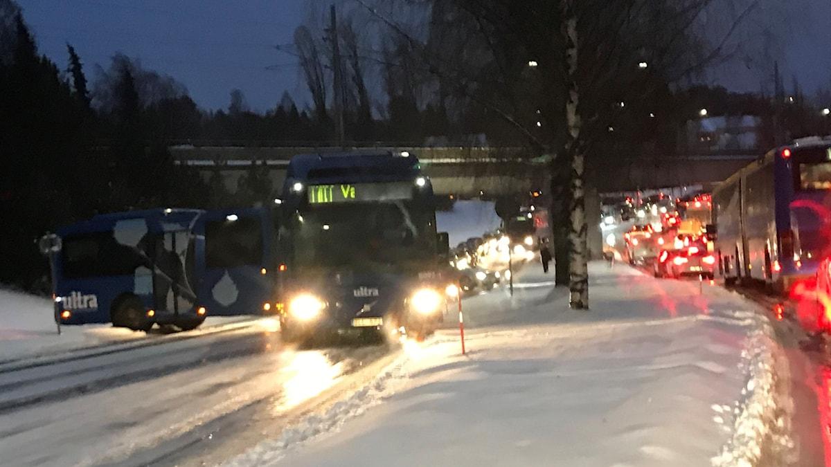 Buss på¨väg