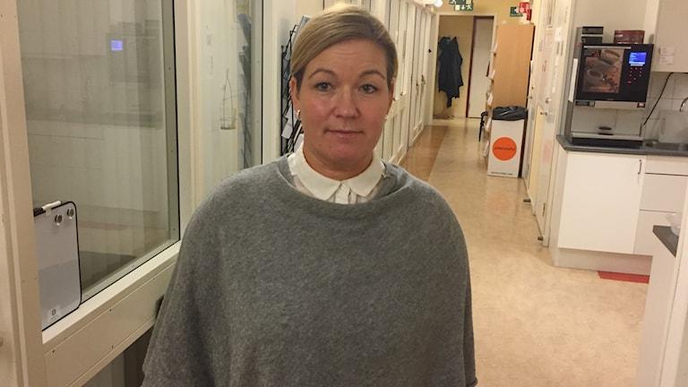 Katarina Holmqvist vice ordförande Vision Skellefteå och ledamot av Visions förbundsstyrelse
