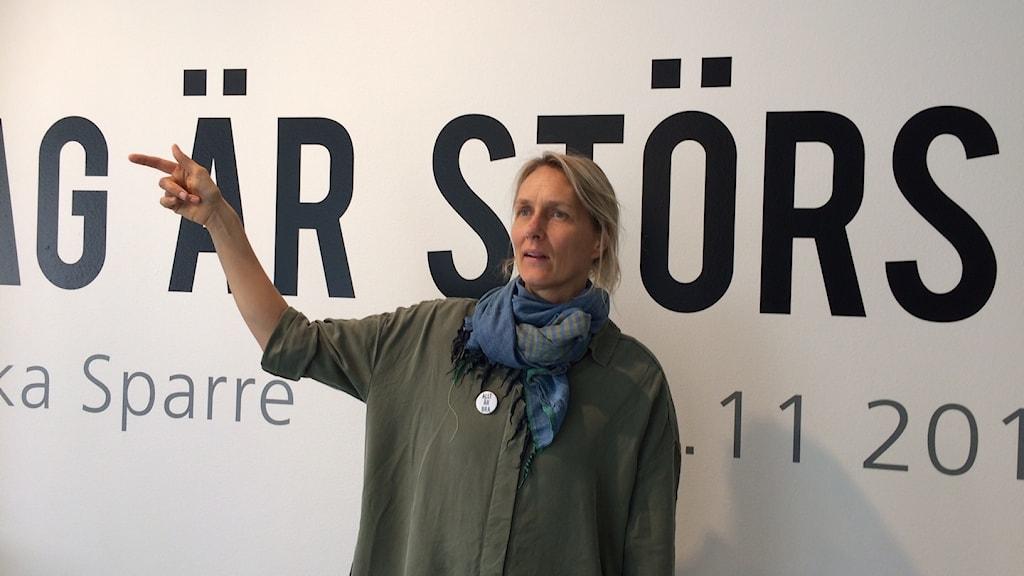 Ulrika Sparres utställning Jag är störst