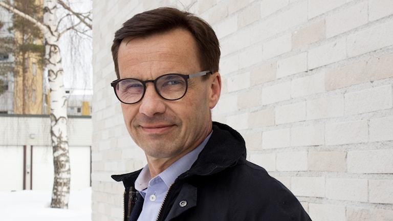 Moderaternas partiledare Ulf Kristersson