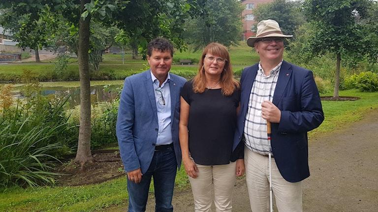 Peter Olofsson, Anna-Lena Danielsson, Erik Bergkvist.