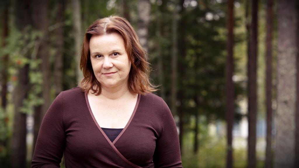 Agneta Tjernström jobbar som analytiker på Arbetsförmedlingen