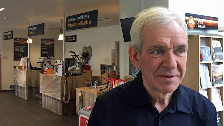 Flygplatschefen Lennart Näslund