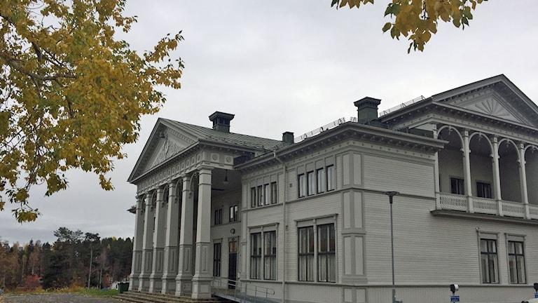 Gamla Folkskolan nu musikskola i Lycksele