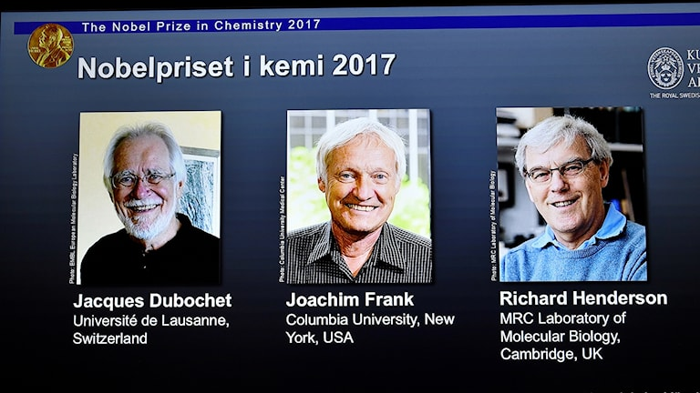 Nobelpristagarna i kemi 2017