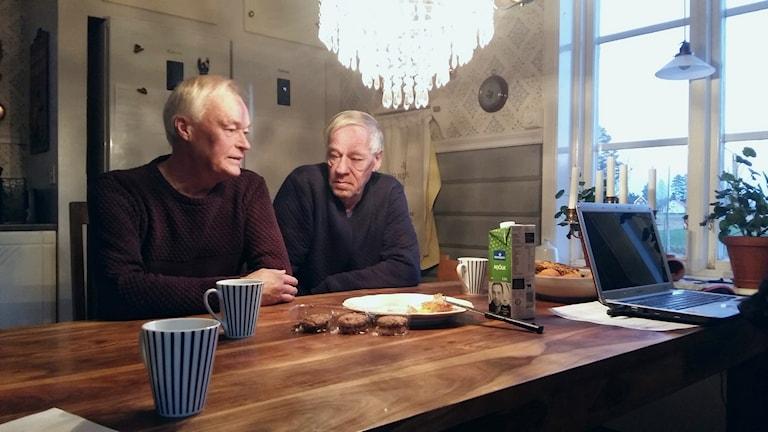 Bertil och Jim Barnefeldt. Foto: Linnea Hedelilja