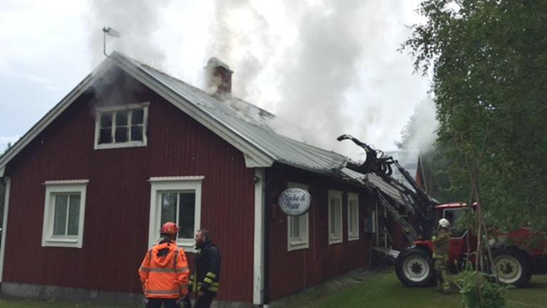 Brand östra Falmark, Skellefteå