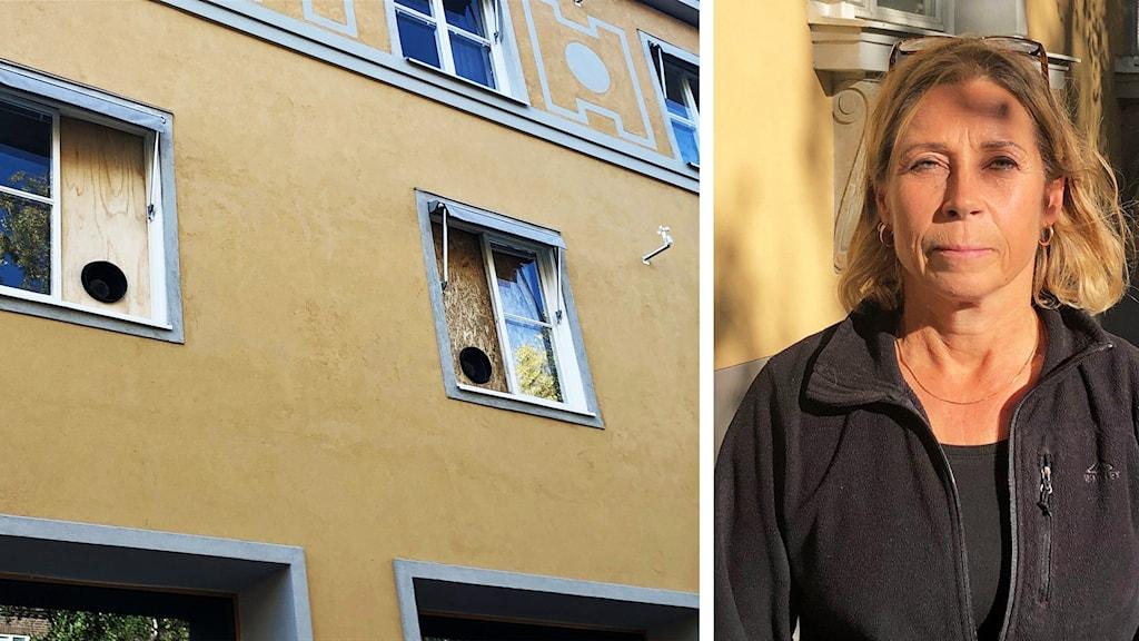 Susanna Eriksson, verksamhetschef på Citymottagningen i Umeå. Foto: Gerhard Stenlund/Sveriges Radio