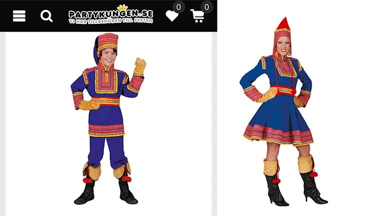Maskeraddräkt samisk kolt till salu hos Partykungen