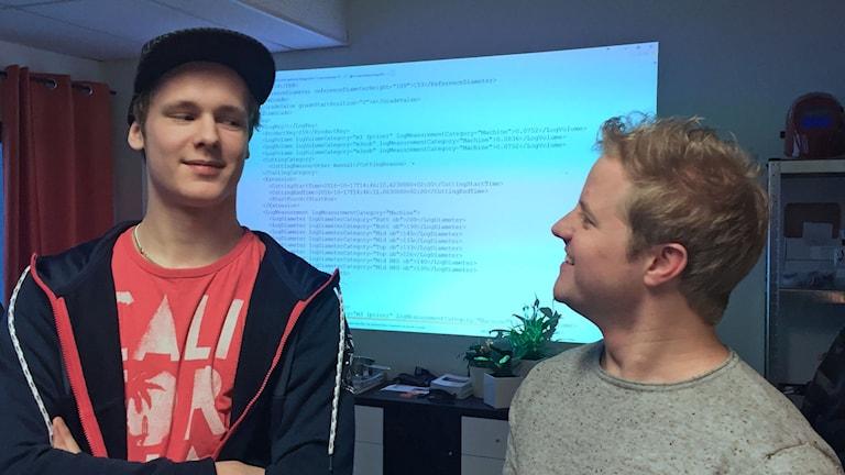 Christoffer Rönnberg och Martin Englund