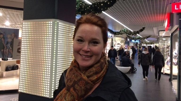 Karin Lindmark i julhandeln