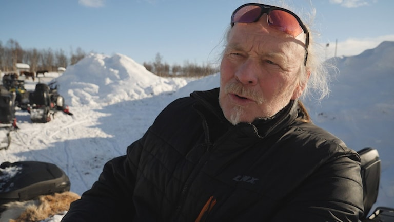 Girjas samebys ordförande Matti Blind Berg.