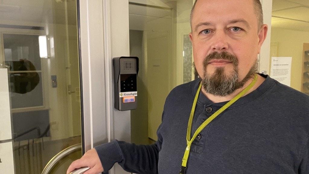 Mattias Lindgren, förrättningsman på Kronofogden i Skellefteå.