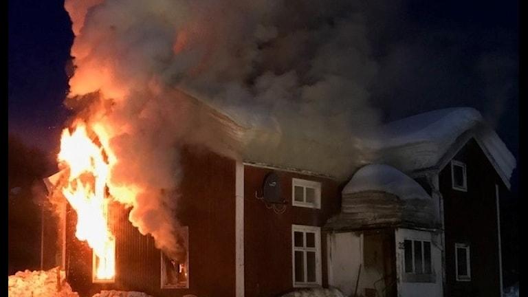 Villabranden i Storbäck, Dorotea kommun. Foto: Robert Salomonsson.