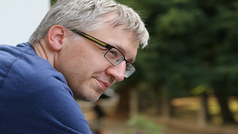 Ola Nordebo politisk chefredaktör Västerbottens kuriren
