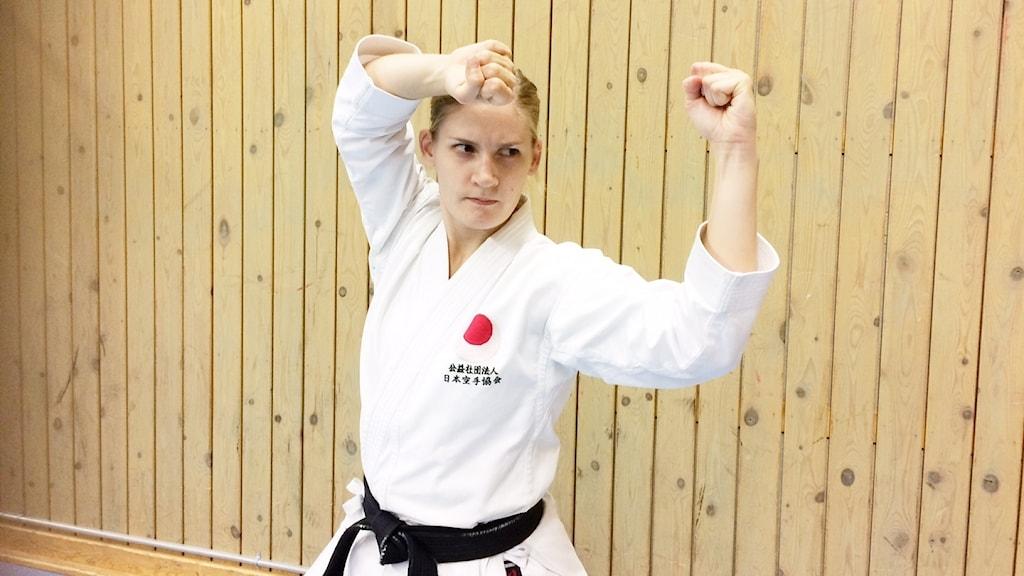 Linda Andersson Guldstaden Shotokan Karateklubb